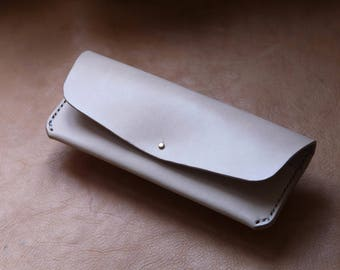 Leather Long Wallet / Clutch