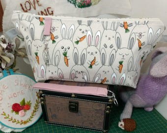 Bunny with Carrot Bag