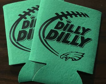 Dilly Dilly Eagles Can Coolers (Set of 2)