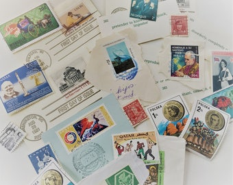 30 Stamps and word cards
