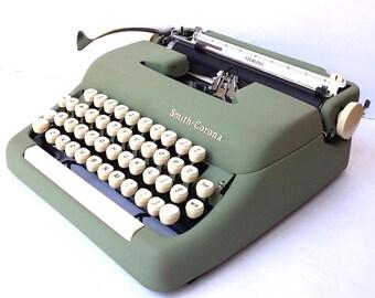 Smith Corona Sterling Manual Portable Typewriter