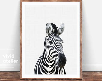 Zebra Print, Girl Nursery Decor, Baby Girl Nursery, Nursery Wall Art, Nursery Art, Nursery Prints, Zebra Art, Zebra Print Wall Art Print