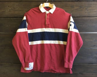 Vintage 90's Polo Rugby Shirt