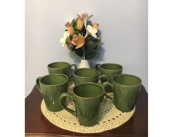 Vintage retro large mugs