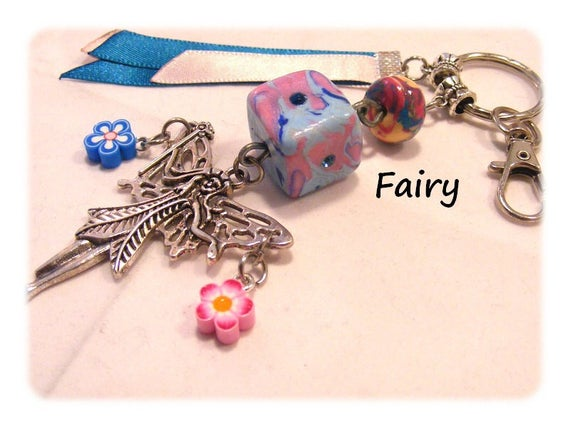 Bag or Keychain ஜ Fairy charm