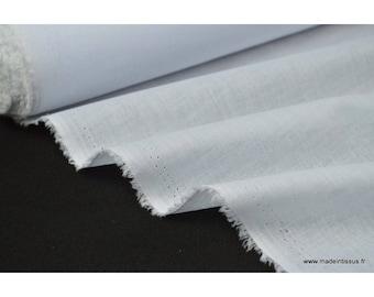 X50cm white cotton Voile