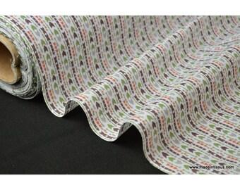Tissu popeline coton imprimé APALOOSA flèches x50cm