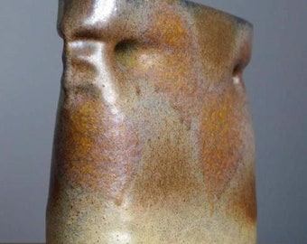 Vintage 60-70's CARSTENS Atelier Vase West German Studio Pottery Fat Lava Era