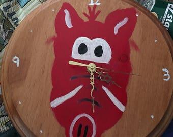 Non Tradtionial Hog Clocks