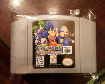 Goemon's Great Adventure N64 Custom English