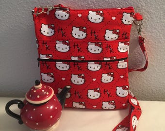 Red Hello Kitty Cross Body Bag