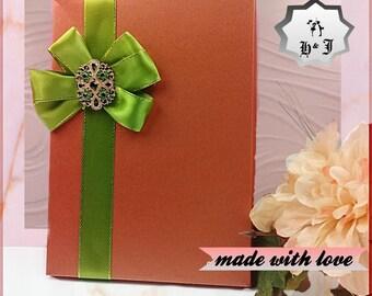 Luxury greeting card box. Pearl box with ribbon and brooch. Stationary box. Photography box. Memory box. Birthday card box. Gift box.
