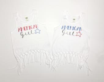 American girl frigbe top- fourth if july