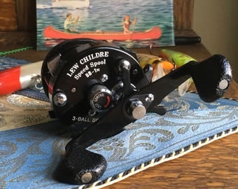 Lew's Childre Speed Spool BB 1N  Ball Bearing Fishing Reel Nice!
