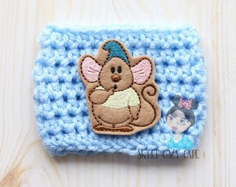 Cinderella Gus Gus Inspired Coffee Cup Cozy