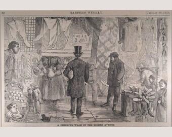 Eight Avenue – New York - 1870