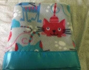 Handmade fleece pet blanket