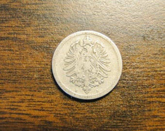 1888A Germany German Empire 5 Pfennig - Great Find!