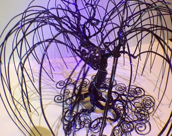 Wire Wrapped Weeping Willoh Tree