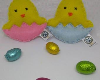 Catnip/Valerian Easter Chick Eggs