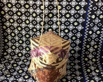 Basket Purse• woven basket purse• rattan bag• rattan purse• basket bag• woven bag• rattan basket • woven basket