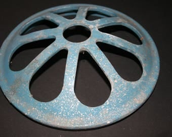 Industrial Textile Mill Vent Cover, Re-Purpose or Up-Cycle Piece, Metal Vent Cover , Man Cave Decor