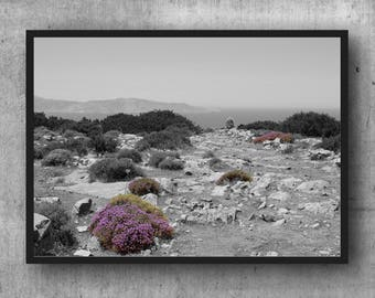 Cyclades Art 02 Greece nature Mediterranean Fine Art Print picture 30 x 20 cm
