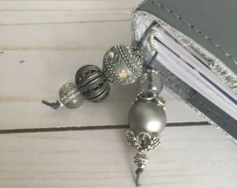 Planner Bookmark- Stormy Gray