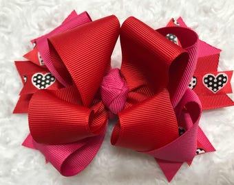 Valentine's Day bow, Valentine gift