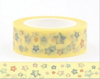Masking tape washi tape star