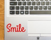 Smile Laptop Sticker Laptop Decal Smile Heart Trackpad Decal Trackpad Sticker Tablet Sticker Smile Vinyl Sticker Smile Car Sticker