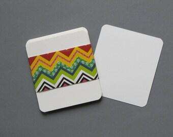 Cartes de papier aquarelle COTMAN 300gr vierge- ( lot de 10) - 10x9 cm- bords arrondis