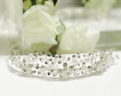 Crystal tiara bridal tiara wedding tiara