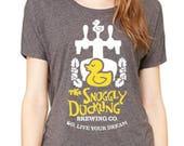 Disney Shirts Ladies Slouchy Tee Snuggly Duckling shirt  Disneyland Shirt Disney World Shirt Magic Kingdom Shirt Disney Cruise Shirt Tangled