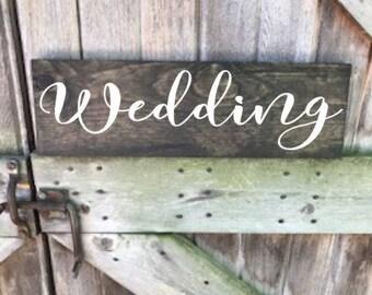 Wedding Sign, Wedding, Wood Wedding Sign, Wood Sign, Wooden Sign, Wedding Wood Sign, Wedding Wooden Sign