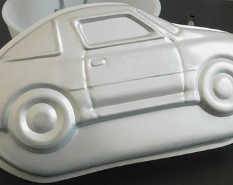 Old Wilton Sports Car Cake Party Pan, Birthday, Bake, Decorate, Party, Vintage Retro 502-1948, Speed Boat, Convertible, Automobile, Novelty