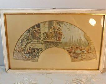 Maurice Leloir. Peinture sur soie. Silk painting. Défilé militaire. France