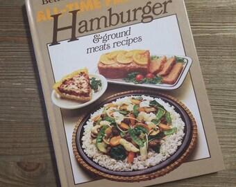 Hamburger Cookbook - Summer Cookbook - Better Homes and Gardens - All Time Favorite Hamburger - Meat Recipes - Cook Book