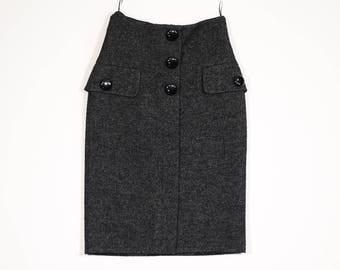 LOUIS VUITTON - Wool skirt