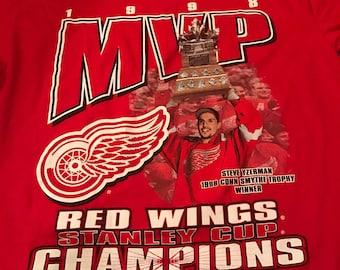 Steve Yzerman Staney Cup MVP Detroit Redwings Shirt