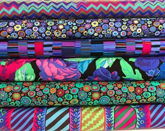 Bundle of Kaffe Fassett Collective Fabrics - 6 fabrics - Kaffe Fasset Bundle - Choose Your Cut
