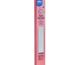 """Fusible Sheerweight Interfacing, 15""""x72"""", by Pellon 906F PLKG, Apparel Interfacing, All Purpose Interfacing"""