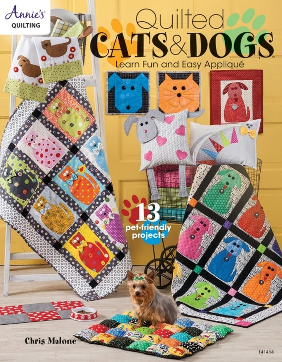 Quilted Cats And Dogs By Chris Malone