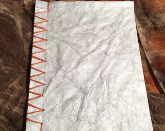 Silver 'Elephant' Textured Sketchbook/Notebook