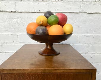 Wooden Fruit Bowl / Bon Bon Dish #350