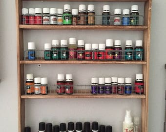 Essential Oil Shelf- 4 tiered