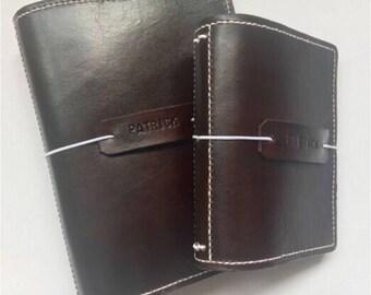 B6 Handmade Leather Traveler's Notebook / Bullet Journal / Journal Cover / Midori / UglyDori / Fauxdori