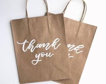 Custom Kraft Gift Bags