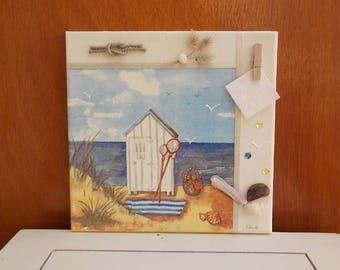 vintage beach cabin!