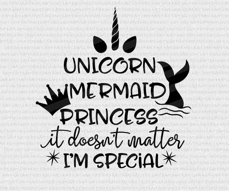 Princess Girl Quotes: Mermaid Svg Unicorn Svg Mermaid Sayings Mermaid Words
